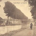 La passerelle du canal de l'Espierre